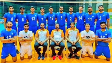 Photo of Asian Volleyball Championship: Indian men's lose opening match