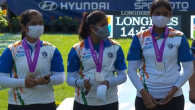 Photo of Gold eludes India yet again at archery World Championships, two silver medals in team events