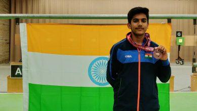 Photo of ISSF Junior World C'ship: 14-year-old Naamya, world record-breaker Aishwary win gold