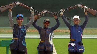 Photo of Indian women win team gold in skeet, bronze for men at ISSF Junior World Championship