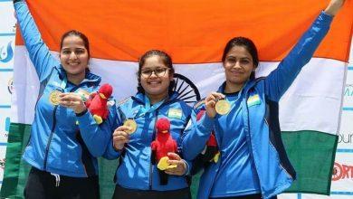 Photo of ISSF Junior World C'ship: India women's 25m Pistol team wins gold