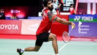 Photo of Thomas Cup: Indian men's team suffers defeat in quarter-final